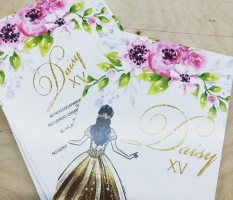 Quinceañera Invitations