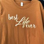 Gold Vinyl T-shirt Printing